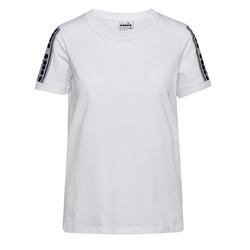 Koszulka damska diadora l. t-shirt ss trofeo - biały