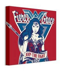 Wonder Woman Join The Fight - obraz na płótnie