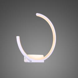 Altavola Design :: Kinkiet Ledowe Okręgi no. 1 moon in 4k biały Altavola Design