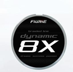 Plecionka dynamic 8x 150 m fluo green 0,18 mm