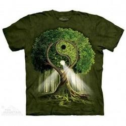 Koszulka mountain drzewo yin yang