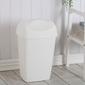 Kosz  pojemnik na śmieci uchylny tontarelli grace 25 l biały