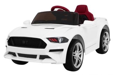 Mustang gt biały samochód na akumulator + pilot