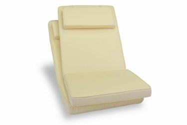 Poduszki kremowe do foteli- krzeseł ogrodwych