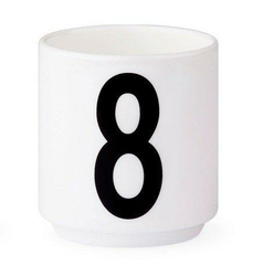 Filiżanki do espresso AJ cyfra 8