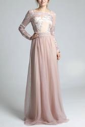 Soky soka sukienka pudrowy róż 600011-2