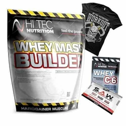 HI-TEC Whey Mass Builder - 3000g - Dark Chocolate  M