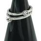 Stojak na biżuterię cone mały czarny marmur