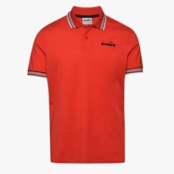 Koszulka męska diadora ss polo chromia - czerwony