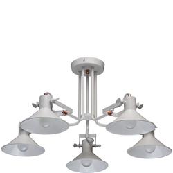 Oświetlenie wiszące na 5 żarówek - regulowane klosze MW-LIGHT Loft 691010705