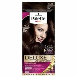 Palette, Deluxe, farba do włosów, 760 Olśniewający Brąz