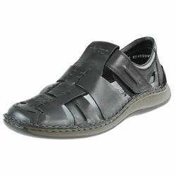 Sandały Rieker 05275 - Czarny 19 || Czarne 00