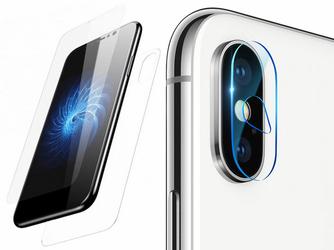 Baseus szkło przód + tył +2x Camera Lens na obiektyw iPhone XXs