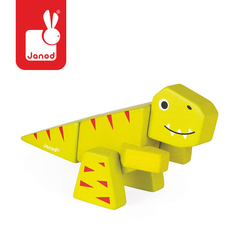 Tyranosaurus drewniany do złożenia