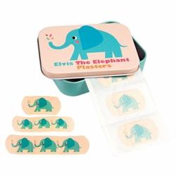 Plastry opatrunkowe 30 szt., Słoń Elvis, Rex London - słoń elvis