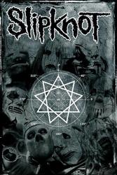 Slipknot Pentagram - plakat