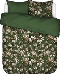 Pościel verano zielona 200 x 220 cm z 2 poszewkami na poduszki 60 x 70 cm