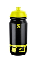 Bidon accent peak czarno-żółty fluo 500 ml