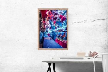 Jarmark we wrocławiu - plakat premium wymiar do wyboru: 59,4x84,1 cm