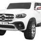 Mercedes-benz x class biały mp4 dwuosobowy samochód na akumulator