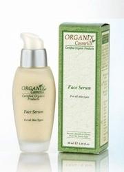 Organiczne serum ochronne do twarzy - obniżona cena - krótka data ważności