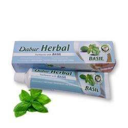 Pasta do zębow dabur herbal toothpaste bazylia