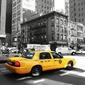 Fototapeta na ścianę żółta taksówka fp 2172