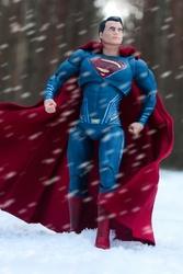 Men of steel superman - plakat wymiar do wyboru: 20x30 cm