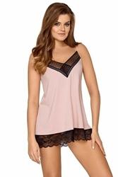 Babella taylor pudrowy róż piżama damska