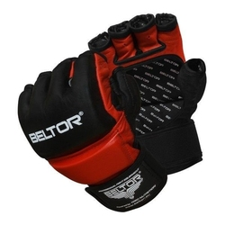 Beltor rękawice mma one czarno-czerwone