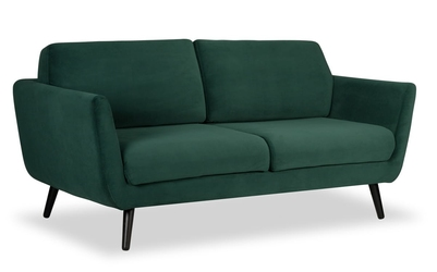 Sofa aster deluxe - welur łatwozmywalny mouse