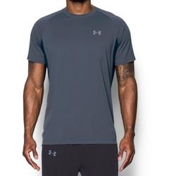 Koszulka męska under armour transport short sleeve - szary