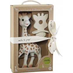 Zestaw Sophie de Vulli SoPure - Żyrafa Sophie i naturalny gryzak