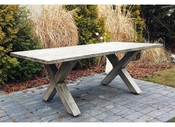 Stół ogrodowy Kala jasnoszary
