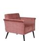 Dutchbone :: fotel lounge sir william vintage różowy