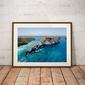 Atuh beach - plakat premium wymiar do wyboru: 91,5x61 cm