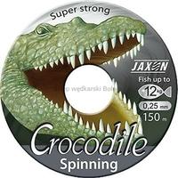 Żyłka spinningowa JAXON CROCODILE Spinning jasnoszara przezroczysta 0,27mm 14kg 150m