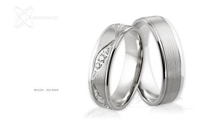 Obrączki ślubne - wzór au-896