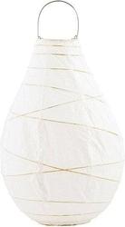 Lampion papierowy drop 35 cm