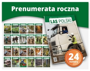 Las polski – prenumerata roczna 24 numery