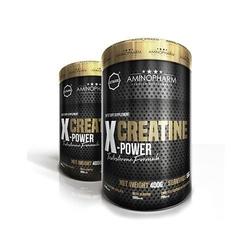 Aminopharm octagon creatine x power 400g jabłczan kreatyny z formuła wspierają podwyższenie poziomu testosteronu