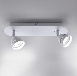 Podwójny plafon sufitowy z reflektorami gemini