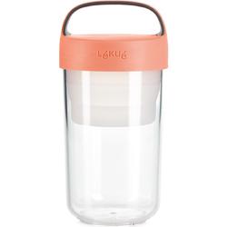 Pojemnik na posiłek 0,6 Litra Jar To Go Lekue różowy 0301020R06U150