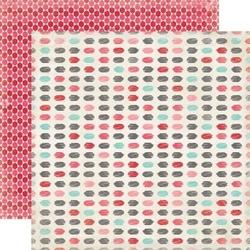 Papier 30,5x30,5 cm Head over heels - Splotches - 04