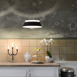Czarna lampa wisząca cuna umage design 02035