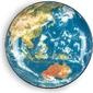 Półmisek cosmic earth asia