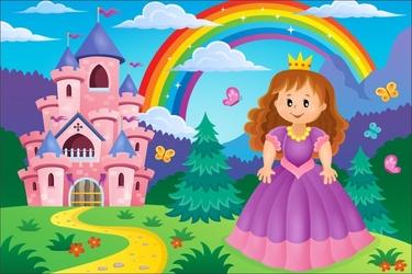 Fototapeta dla dzieci księżniczka 1223