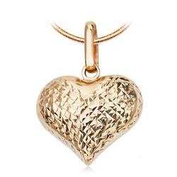 Staviori zawieszka serce. żółte złoto 0,585. szerokość 7 mm. wysokość 20 mm.