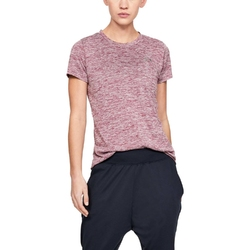 Koszulka damska under armour tech ssc - twist - różowy