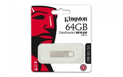 Kingston data traveler dtse9g2 64gb usb3.0